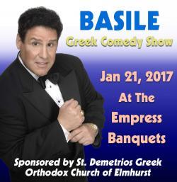 Basil The Comedian Live at Empress Banquets