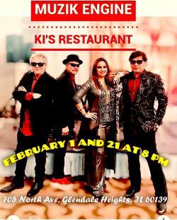 Muzik Engine Live at Ki's Steak & Seafood - Glendale Heights