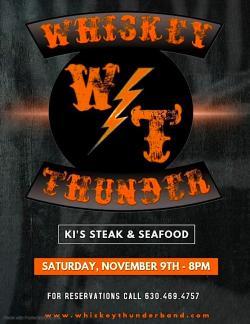 Whiskey Thunder Band Live at Ki's Steak & Seafood - Glendale Heights