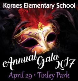 Koraes Elementary School Annual Gala in Tinley Park
