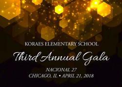 Koraes Elementary School 3rd Annual Gala at Nacional 27 in Chicago