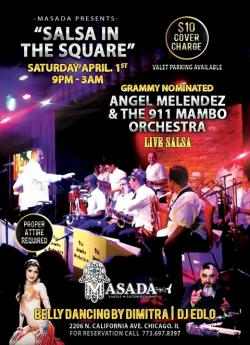 """""""Salsa In The Square"""" at Masada Restaurant in Chicago"""