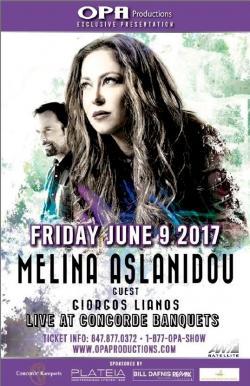 Melina Aslanidou Live at Concorde Banquets