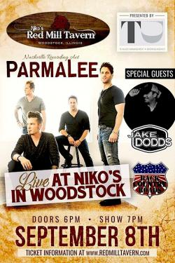 ParmaLee Live at Niko's Red Mill Tavern in Woodstock