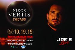 Nikos Vertis Live in Chicago at Joe's Live in Rosemont