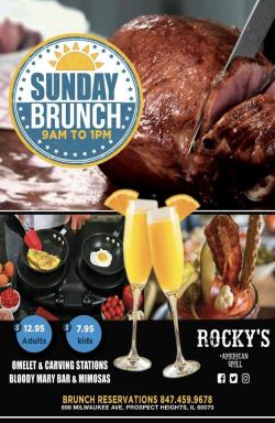 Sunday Brunch at Rocky's American Grill in Prospect Heights