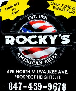 Rocky's American Grill Food Specials - Prospect Heights