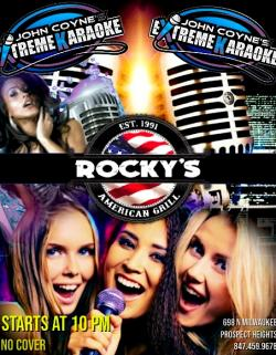 Karaoke Thursdays at Rocky's American Grill - Prospect Heights