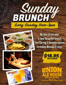Sunday Brunch at Union Ale House in Prospect Heights