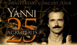Yanni Live at Chicago Theater for Live at the Acropolis 25th Anniversary
