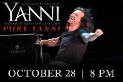 Yanni Live at Rialto Square Theater, Joliet