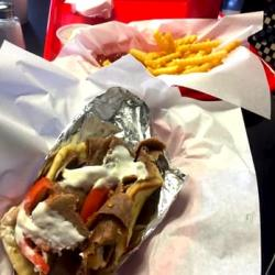Craving Gyros in Lake Zurich