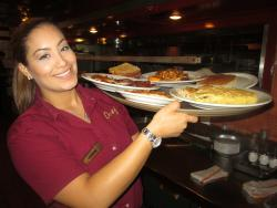 Omega serves hearty breakfast selections