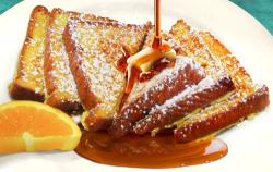 Delicious French Toast at Omega Restaurant in Schaumburg