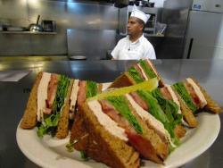 Turkey Club Sandwich at Annie's Pancake House in Skokie