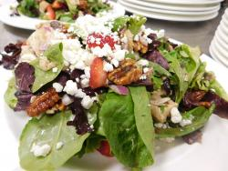 The Chicken Strawberry Salad at Butterfield's Pancake House Oakbrook Terrace