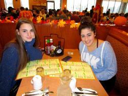 Friends enjoying breakfast at Butterfield's Pancake House & Restaurant in Northbrook