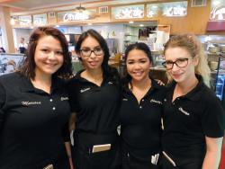 Friendly servers at Christy's Restaurant in Wood Dale