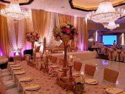 Beautifully designed ballroom at Cotillion Banquets in Palatine