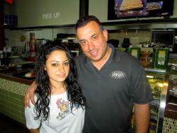 Friendly staff at Dengeos Restaurant in Skokie