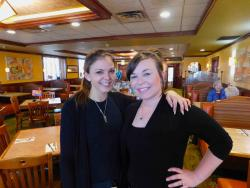 Friendly staff at Downers Delight Pancake House & Restaurant in Downers Grove