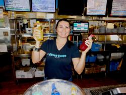 Friendly staff at Greek Feast Restaurant in Northbrook