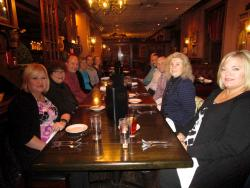 Friends enjoying lunch at Jimmy's Charhouse in Libertyville