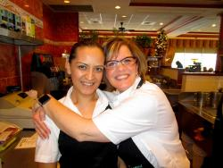 Friendly staff at Lumes Pancake House in Orland Park