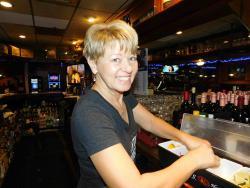 Friendly bar staff at Market Square Restaurant in Wheeling