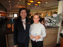 Friendly staff at the Mirage Restaurant & Banquets in Schiller Park