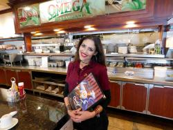 Friendly staff at Omega Restaurant & Pancake House in Schaumburg