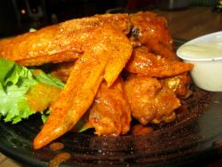The famous hot wings at Paps Ultimate Bar & Grill in Mount Prospect
