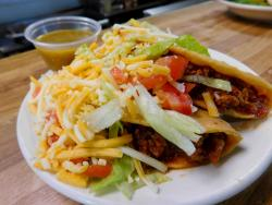 The famous tacos at Paps Ultimate Bar & Grill in Mount Prospect