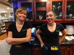 Friendly staff at Pub 83 Pizza & Burgers in Long Grove