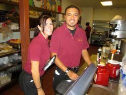 Friendly staff at Savoury Restaurant & Pancake Cafe in Bartlett