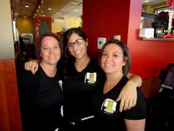 Friendly staff at Stacked Pancake House in Oak Lawn
