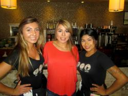 Friendly staff at Xando Cafe in Hickory Hills