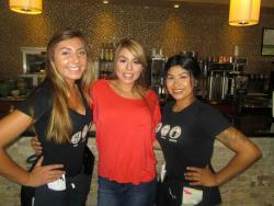 Friendly servers at Xando Cafe in Hickory Hills