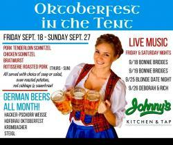 Octoberfest Celebration at Johnny's Kitchen & Tap in Glenview