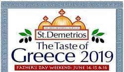 St. Demetrios Greek Orthodox Church, Taste of Greece Festival, Elmhurst