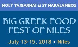 Big Greek Food Fest of Niles, 2018