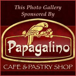 This photo gallery was sponsored by Papagalino Cafe and Pastry Shop
