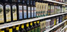 Nice selection of Extra-Virgin Olive Oil at 95th Produce Market in Hickory Hills