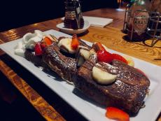 The Banana Bread French Toast at Alexander's Cafe in Elgin