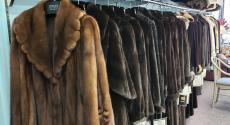 Nice selection of coats at Angelo's Leathers and Furs in Oak Lawn
