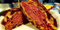 The famous Reuben Sandwich at Annie's Pancake House in Skokie