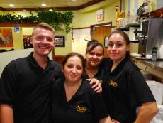 Friendly staff at Annie's Pancake House in Skokie