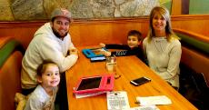 Family time at Apple Villa Pancake House in Hoffman Estates
