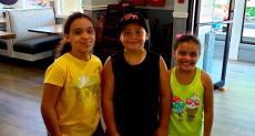Young customers at Bentley's Pancake House & Restaurant in Wood Dale