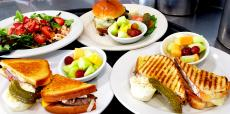 Assorted lunch items at Bentley's Pancake House & Restaurant Wood Dale
